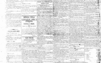<strong>17 de maio de 1888</strong><br> Número extra em edição especial por causa da Lei Áurea.