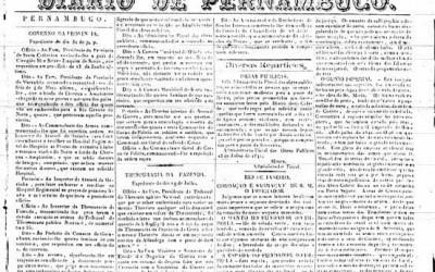 <strong>3 de agosto de 1841</strong><br> Relato da coroação de Dom Pedro II, ocorrida no dia 18 de julho.
