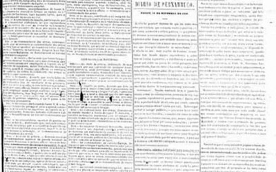 <strong>11 de novembro de 1848</strong><br> Defesa do jornal quatro dias depois do início da Revolução Praieira.