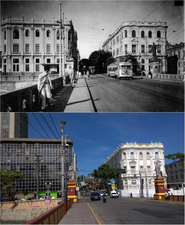 Foto 1: Alexandre Berzin/Museu da Cidade do Recife Foto 2: Paulo Goethe/DP