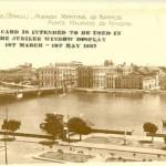 Ponte Maurício de Nassau, ao fundo os edifícios Moulin Rouge e Chantecler - Coleção Josebias Bandeira/Fundaj