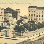 Praça Maciel Pinheiro - Coleção Josebias Bandeira/Fundaj