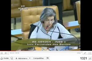 Vídeo da revisão do teto da Emenda Constitucional n.º 20/98