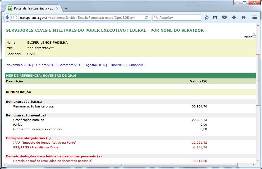 http://transparencia.gov.br/servidores/Servidor-DetalhaRemuneracao.asp?Op=1&IdServidor=2190621&bInformacaoFinanceira=True&Ano=2016&Mes=11