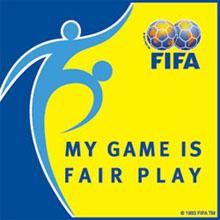 Jogo limpo, um dos lemas da Fifa