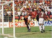 Sport 6 x 0 Fluminense, em 14 de setembro de 1996