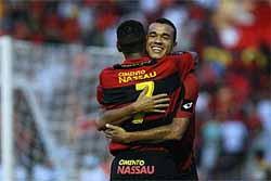 Sport 5 x 0 Figueirense, em 14 de setembro de 2008