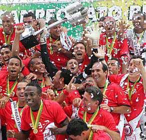 Resultado de imagem para São Paulo vence América e é campeão Brasileiro de 2007
