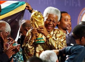 Nelson Mandela e a Copa do Mundo