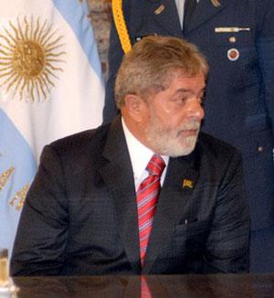 Lula na Argentina