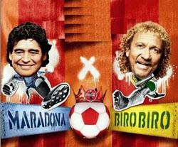 """Biro-Biro, revelado pelo Sport e """"melhor"""" que Maradona"""