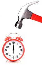 Relógio timbu