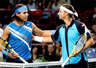 Nalbandian vence Rafael Nadal e é campeão do Masters de Paris, em 2007