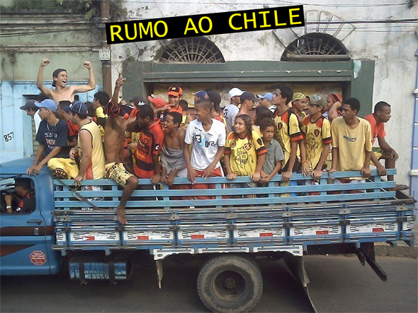 Viagem rubro-negra ao Chile
