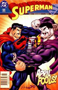 Superman x Superman bizarro