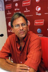 Waldemar Lemos, técnico do Náutico em 2009 (11 jogos) e 2011, na Série B