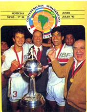 São Paulo, campeão da Libertadores de 1992
