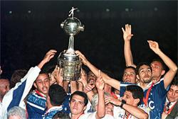 Cruzeiro, campeão da Libertadores de 1997