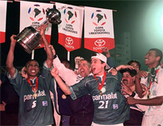 Palmeiras, campeão da Libertadores de 1999