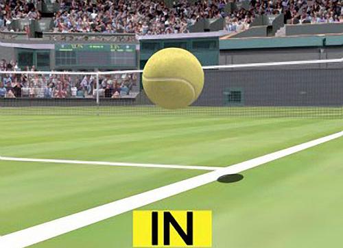 """Tira-teima do tênis, também conhecido como """"hawk-eye"""""""