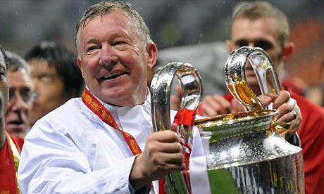 Alex Ferguson, técnico do Manchester United