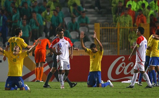 Mundial Sub-20/2009: Brasil 1 x 0 Costa Rica
