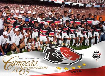 Santa Cruz campeão pernambucano de 2005