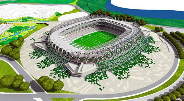 Arena pernambucana para a Copa do Mundo de 2014