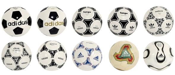 aa87ea00d1 Bolas da Copa do Mundo entre 1970 e 2006