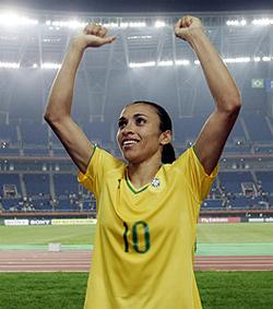 Marta, craque da Seleção feminina