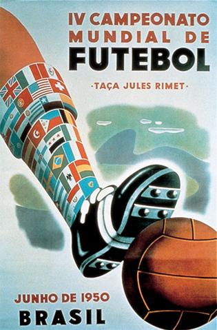 Logotipo oficial da Copa do Mundo de 1950