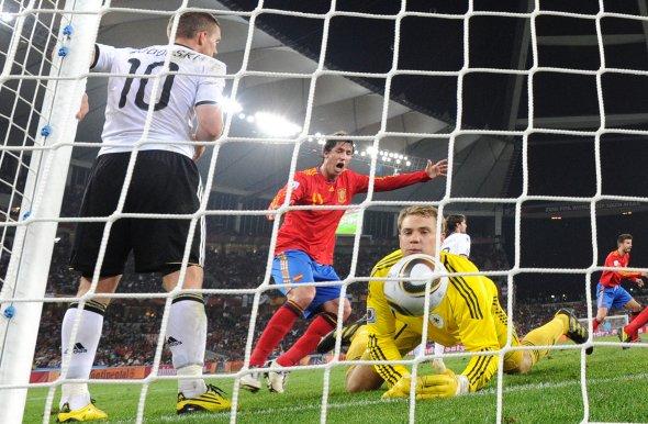 Copa do Mundo de 2010: Espanha 1 x 0 Alemanha