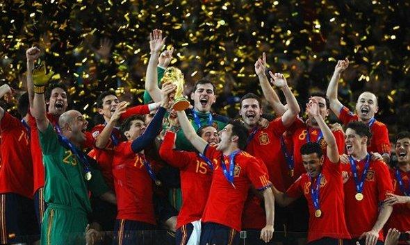 Final da Copa do Mundo de 2010: Espanha 1 x 0 Holanda