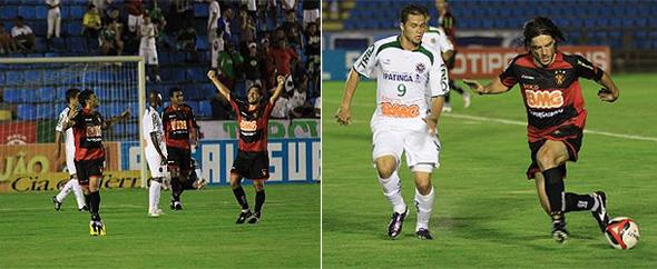 Série B-2010: Ipatinga 1 x 3 Sport