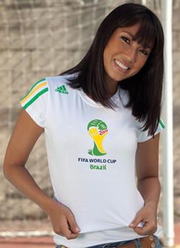 Camisa oficial da Copa do Mundo de 2014 c7ca67f82c5ce
