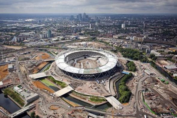 Estádio Olímpico de Londres, em 2012