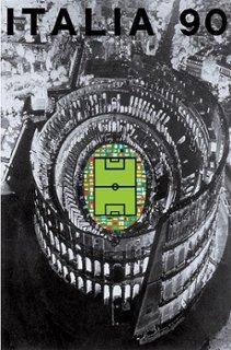 Poster oficial da Copa do Mundo de 1990