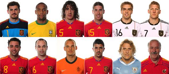 Seleção da Copa de 2010