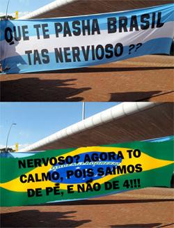 Montagem: Argentina fora da Copa de 2010