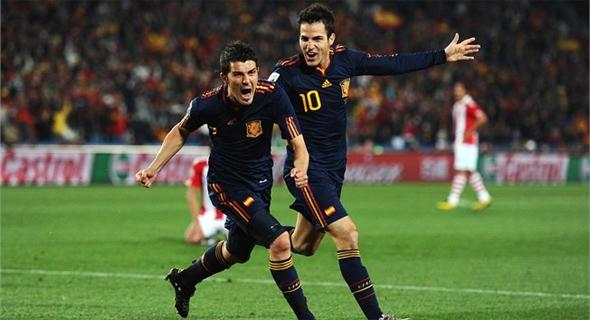 Copa do Mundo de 2010: Espanha 1 x 0 Paraguai