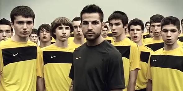 Espanha na campanha da Nike