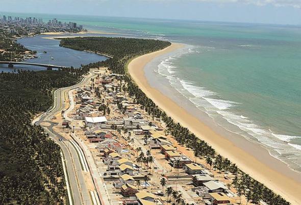 Praia do Paiva. Foto: Wilton Santana/Divulgação