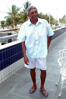 Givanildo Oliveira em Olinda: Foto: Ricardo Fernandes/DP