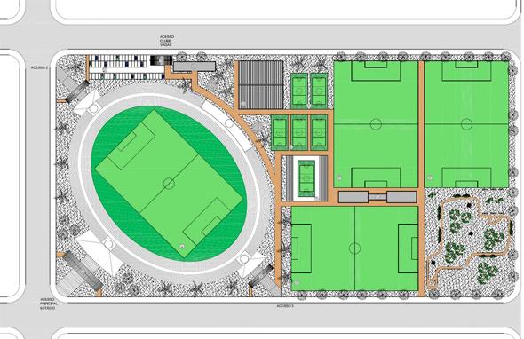 Projeto do estádio do América/PE