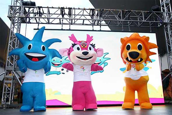 Mascotes dos Jogos Pan-Americanos de 2011, em Guadalajara, México