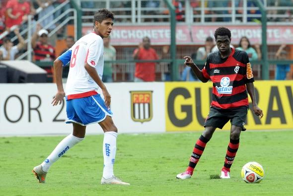 Flamengo vence o Bahia por 2 x 1 na final da Copa SP de Juniores de 2011. Foto: Flamengo/divulgação