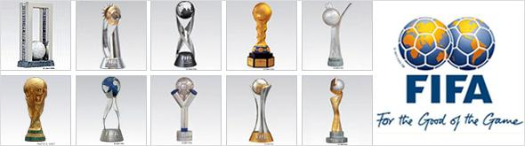 Troféus oficiais da Fifa