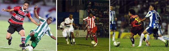 Pernambucano 2011, 2a rodada. Fotos: Ricardo Fernandes, Edvaldo Rodrigues e Jefferson Marques/Diario de Pernambuco