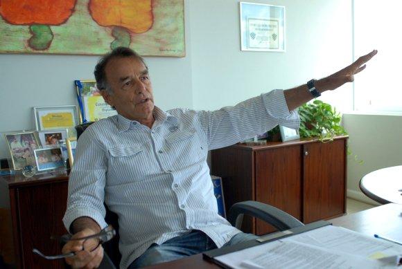 Homero Lacerda, ex-presidente do Sport. Foto: Júlio Jacobina