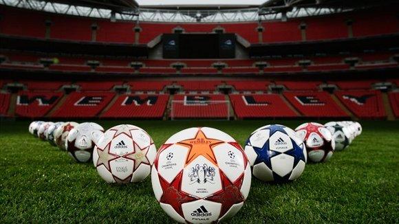 Bola da final da Liga dos Campeões da Uefa da temporada 2010/2011. Foto: Uefa/divulgação